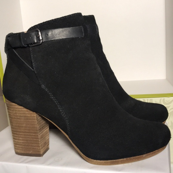 e6705d57876 Madewell True Black Aimee Ankle Booties